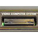 Atari 2600 close up cartridge slot