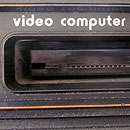 Atari 2600 cartridge slot
