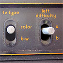 Atari 2600 left-side switches
