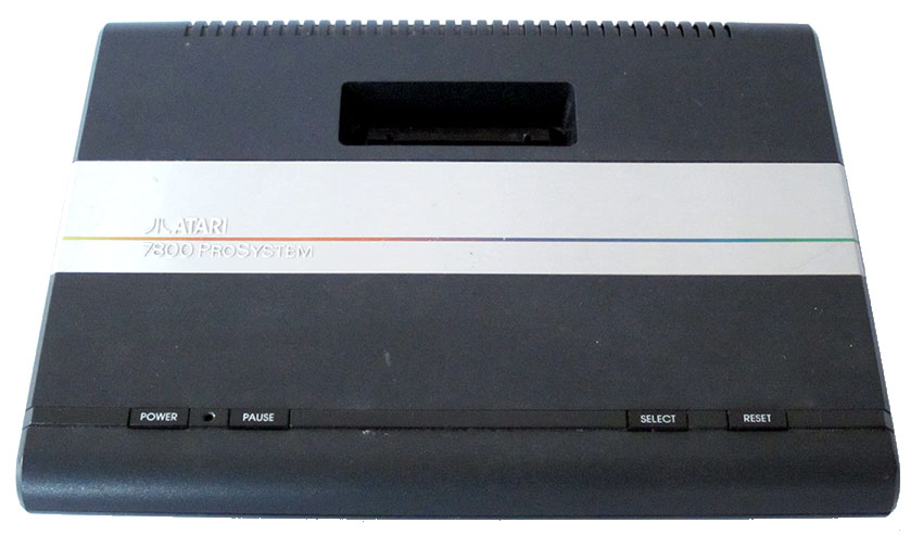 #Atari 7800 #ProSystem is compatible w/ 2600 games but ...