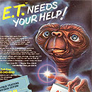 E.T. The Extraterrestrial game ad