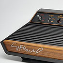 PC retrofitted Atari 2600 signed by Nolan Bushnell