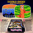 Xonox double ender carts for Atari 2600