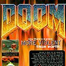 Ad for Doom on the Atari Jaguar