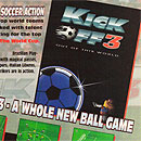 Ad for Kick Off 3 on the Atari Jaguar