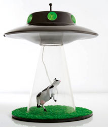 Alien Abduction Reading Lamp