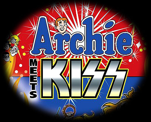 Kiss infects Riverdale High and the Archie Gang