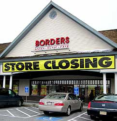Borders Books closing on Cape Cod