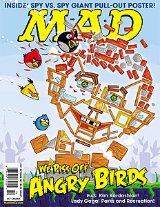 Mad Magazine Takes on the Angry Birds