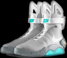 Nike Back to the Future McFly shoes