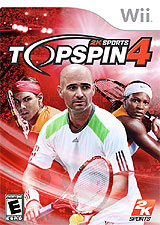 Top Spin 4 for Wii