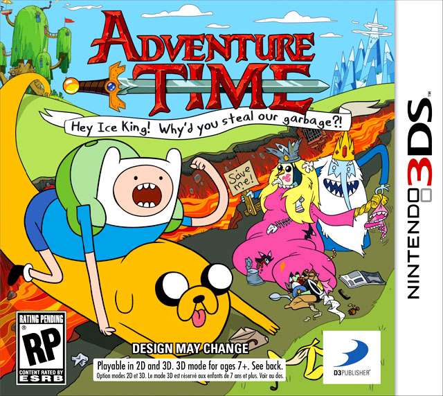 Adventure Time: Hey Ice King! Why'd You Steal Our Garbage? for Nintendo DS and 3DS