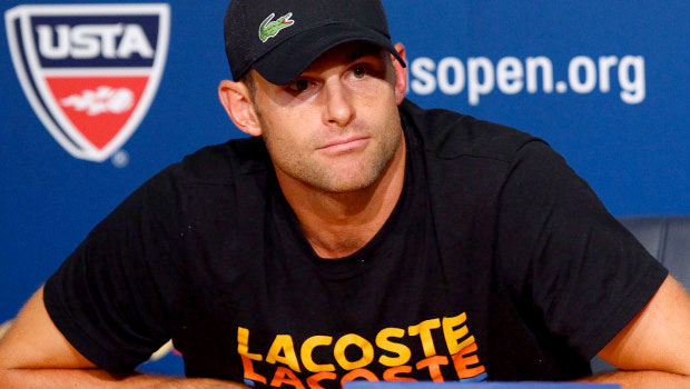 Andy Roddick retires a champion of tennis at the US Open 2012