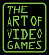 Smithsonian The Art of Video Games exhibition logo