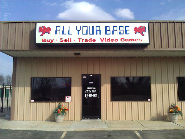 All Your Base Used Video Game store