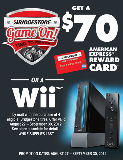 Bridgestone wii promotion