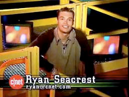Ryan Seacrest on Cnet Central
