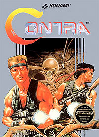 Konami Contra for NES
