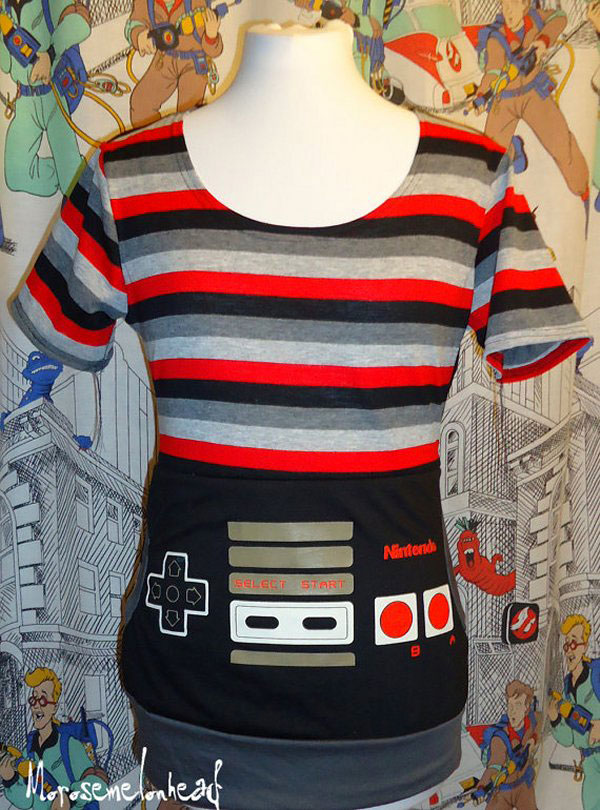 Store-bought is OK but DIY gamer fashion is the way to go