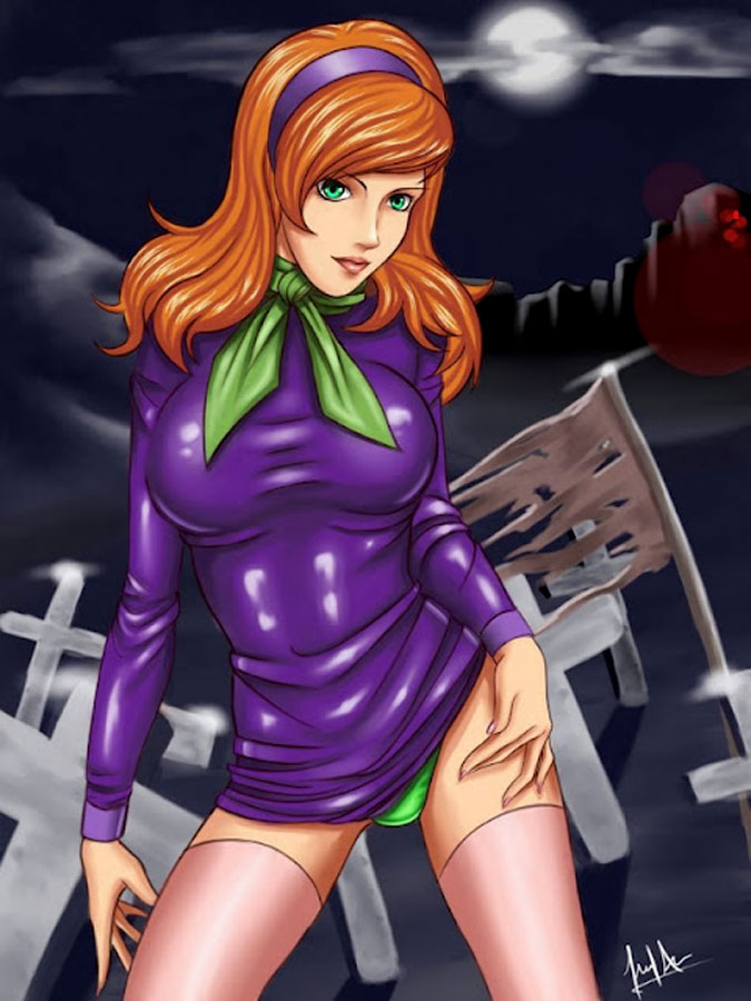 Daphne from Scooby Doo art