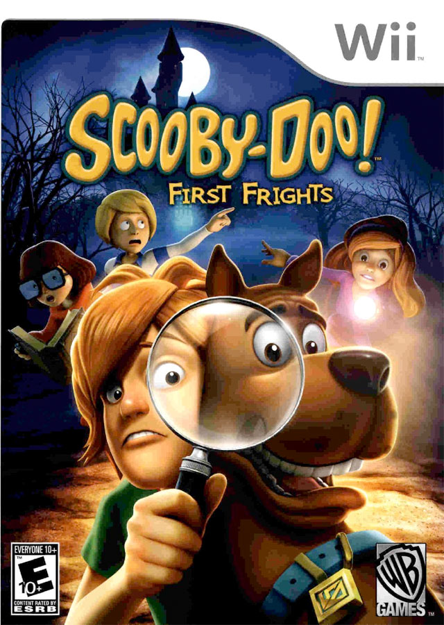 Scooby Doo First Frights on Wii