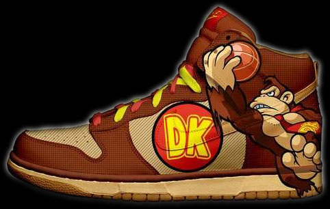 Donkey Kong Shoes