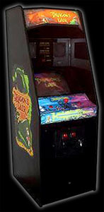 Dragons Lair arcade cabinet
