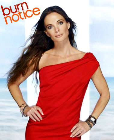 Gabrielle Anwar as Fiona from Burn Notice on USA Network