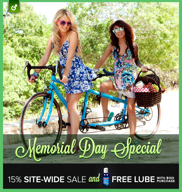 Memorial Day sale on pocket-pussies from Fleshlight