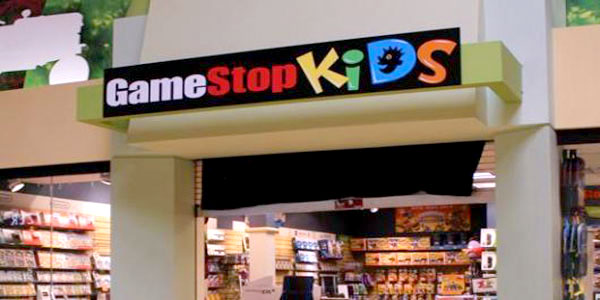 GameStop Kids storefront