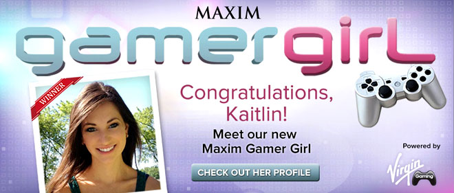 Gamer Girl contest winner