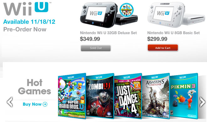 GameStop ramps up for the Wii U launch via pre-orders