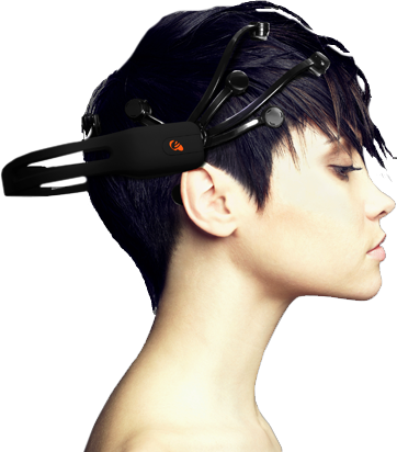 Emotiv EPOC neuroheadset Head Mounted PC Controller