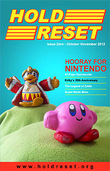 retro gaming zine: Hold Reset