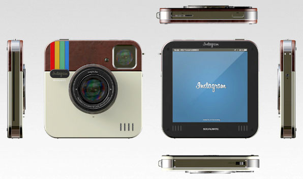 Retro styled Instagram camera