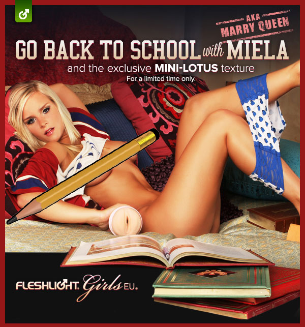 Fleshlight's Back-To-School sale