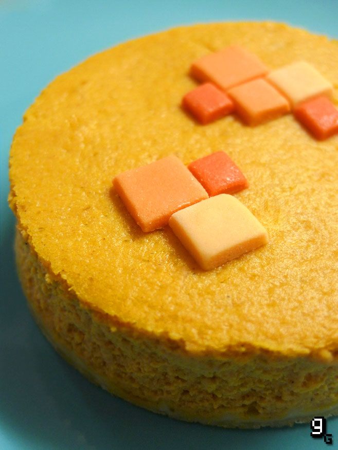 Minecraft Pumpkin Pie from Gourmet Gaming