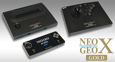 NeoGeo X Gold arrives in December to commemorate the 20th aniversary of the NEOGEO AES console