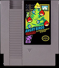 Angry Birds on your Nintendo NES