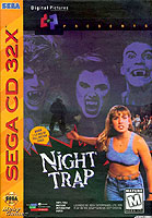 Night Trap video game for Sega 32X