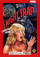 Night Trap video game for Sega CD