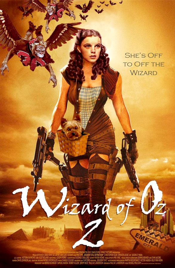 Dorothy's off to off the Wizard
