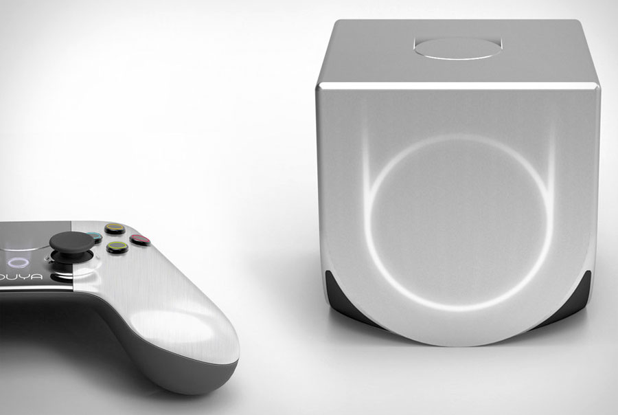 Oyua game console with controller