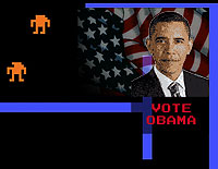 President Obama's campaign uses video games to advertise