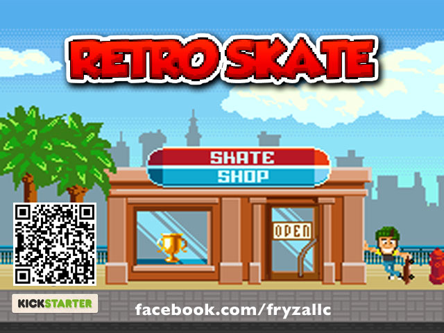 Retro Skate by Fryza