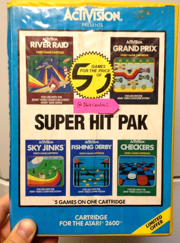 Activision's Super Hit Pack via HES Box cover