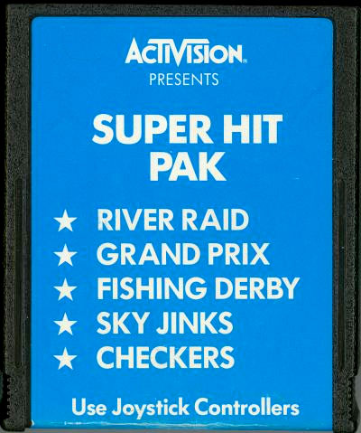 Activision's Super Hit Pack via HES 2600 cartridges