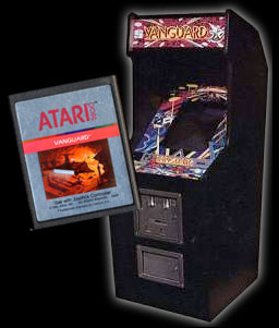 Centuri and Atari Vanguard games