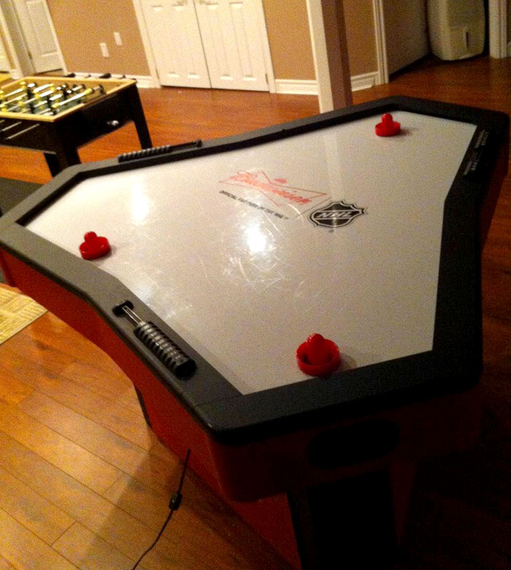 Air hockey table toys r us uk table designs i d jump at a 3 way but alyssa prefers her hockey on ice 8 bit central greentooth Choice Image