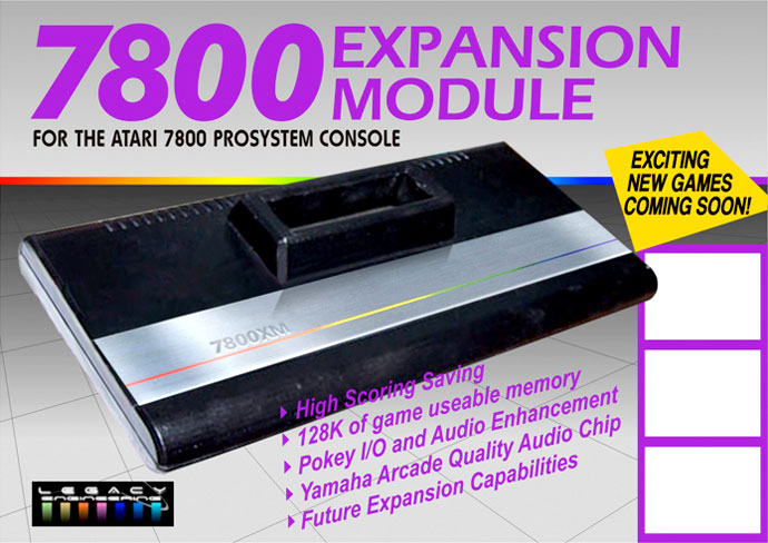 Atari 7800 Expansion Module Xm Will Offer More Ram